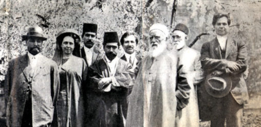 Abdu'l-Baha and Lua Getsinger at the Mohonk Conference in 1912