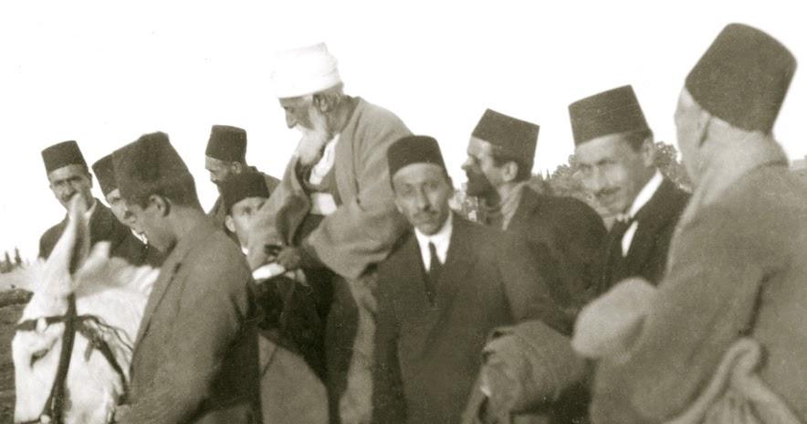Abdu'l-Baha on the Donkey